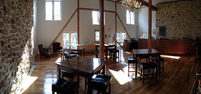 Winery Panoramic corner view